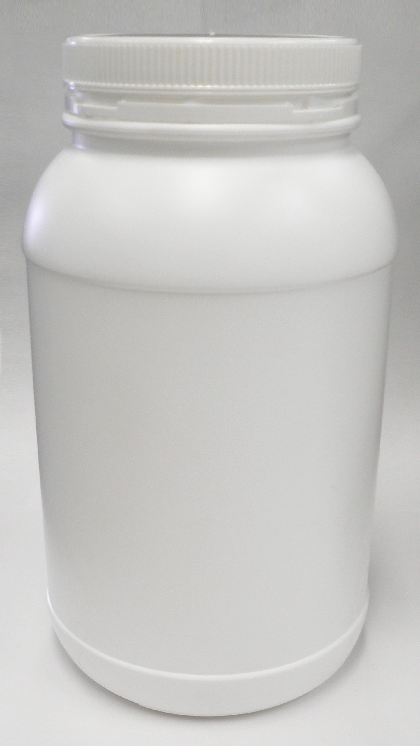 4500ml Round White Jar