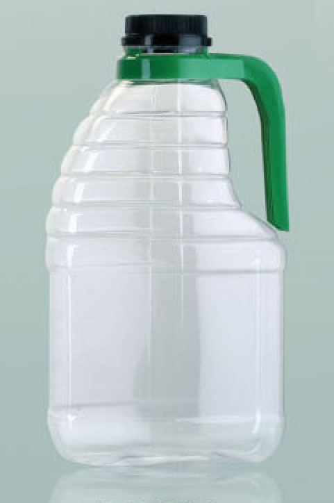 1000ml Rect C W Handle Clear Pet Various Coloured Handles