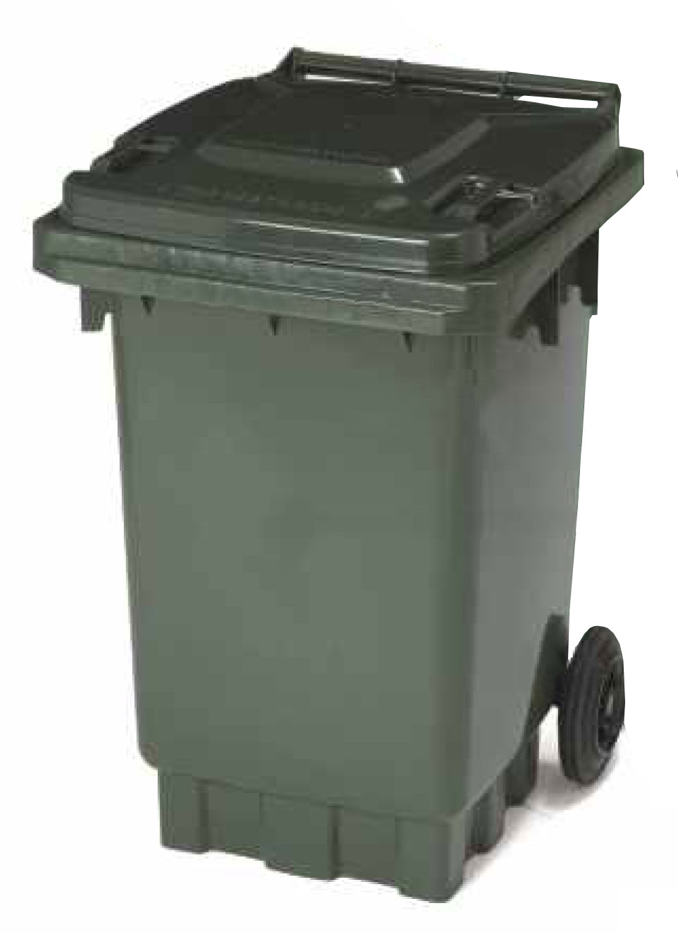 waste bin A waste container is a container for temporarily storing waste, and is usually made out of metal or plasticsome common terms are dustbin, garbage can, and trash canthe words rubbish.
